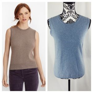 Brooks Brothers Cashmere Sweater Shell Tank